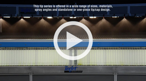 Watch our TeeJet Air Induction Spray Distribution Quality video.
