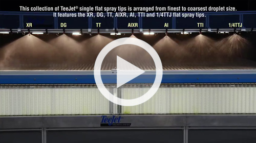 Watch our TeeJet Flat Spray Tip Line video.