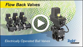TeeJet Flowback Valves video.