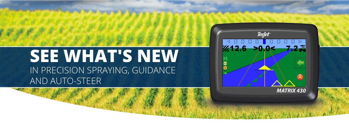 Matrix® 430 GPS Guidance System:  Easy-to-Use, Low-Cost, Graphical Guidance System